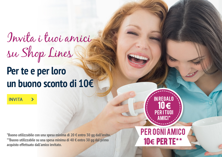 Invita i tuoi amici e ricevi fino a 100€ di sconto